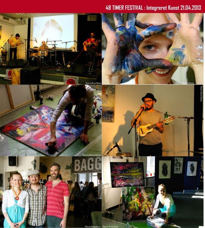 helen kholin artist workshop with music