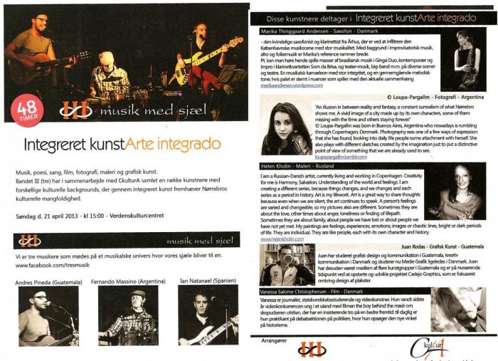 48 timer noerrebro festival helen kholin workshop art and music