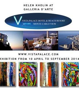 Vista Palace Hotel exhibition Helen Kholin