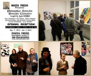 Helen kholin international group exhibition in Berlin