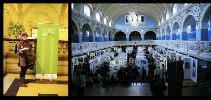 Oxford International Art Fair helen kholin photo
