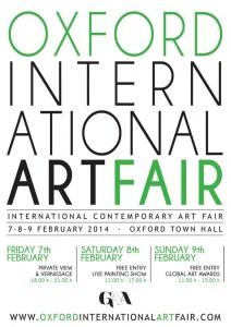 Oxford International Art Fair helen kholin poster