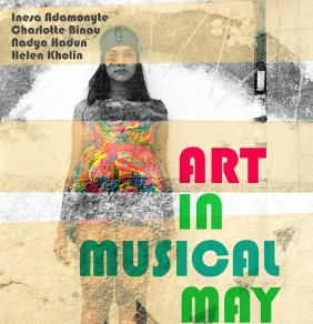 helen kholin art in musical may in Artkemi galler