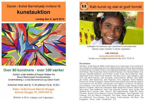 Charity auction led by Kasper Nielsen, Bruun Rasmussen Auctioneers of fine arts